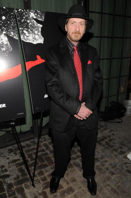 Frank Miller at the 2008 New York Comic Con party for