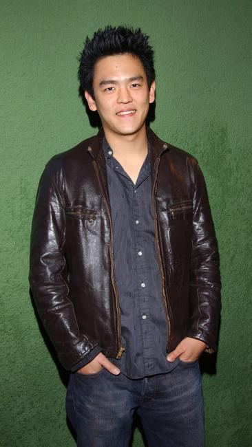 John Cho at the American Music Award After party.
