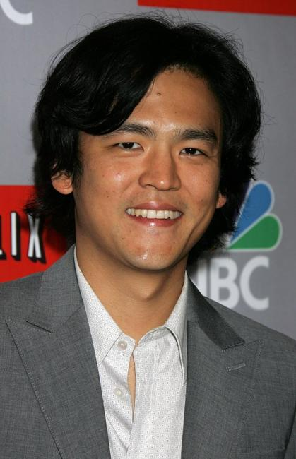 John Cho at the NBC All-Star Event.