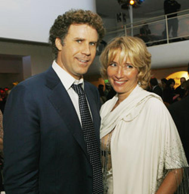 Will Ferrell and actress Emma Thompson at the after party of the L.A. premiere of