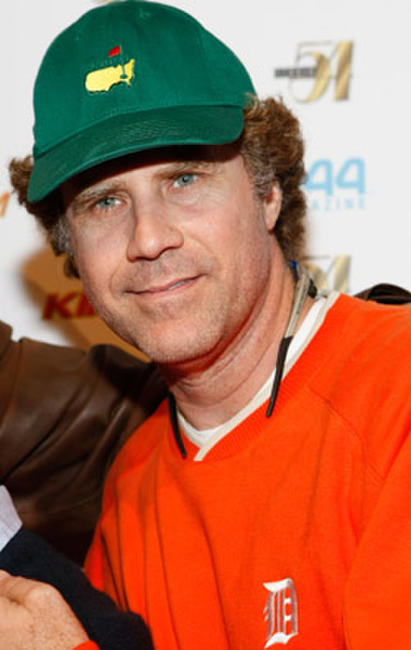 Will Ferrell at the Las Vegas premiere of