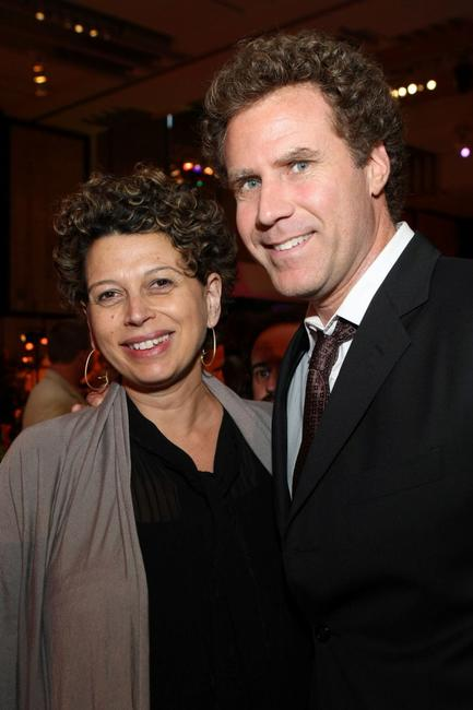 Will Ferrell and Donna Langley at the after party of the California premiere of