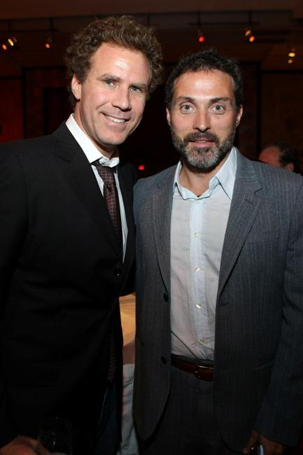 Will Ferrell and Rufus Sewell at the after party of the California premiere of