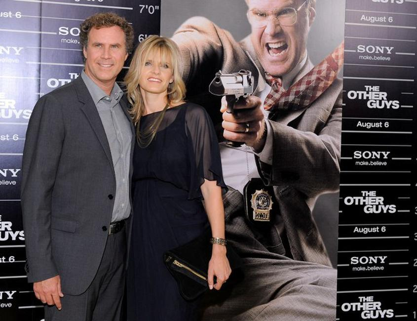 Will Ferrell and Viveca Paulin at the New York premiere of