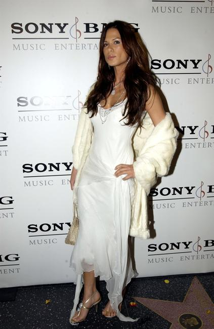 Rhona Mitra at the Sony BMG Music Entertainment Grammy Party.