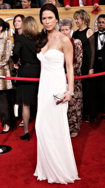 Rhona Mitra at the 12th Annual Screen Actors Guild Awards in L.A.