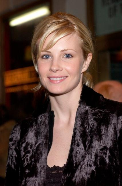 Monica Potter at the opening night of