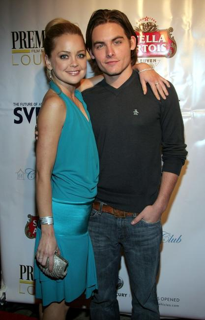 Marissa Coughlan and Kevin Zegers at the premiere Lounge after party of