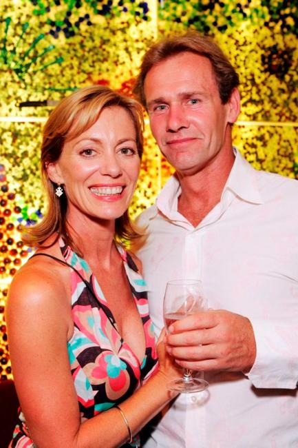 Kerry Armstrong and Greg Lucas at the Melbourne premiere of