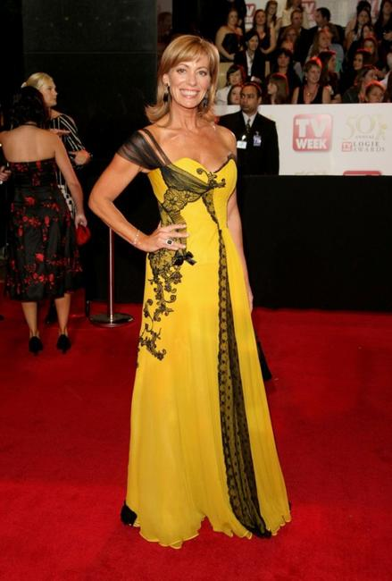 Kerry Armstrong at the 50th Annual TV Week Logie Awards.