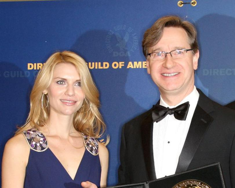 Claire Danes and Paul Feig at the 61st Annual Directors Guild of America Awards.