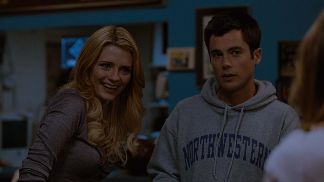 Mischa Barton as Shelby and Matt Long as Mike in