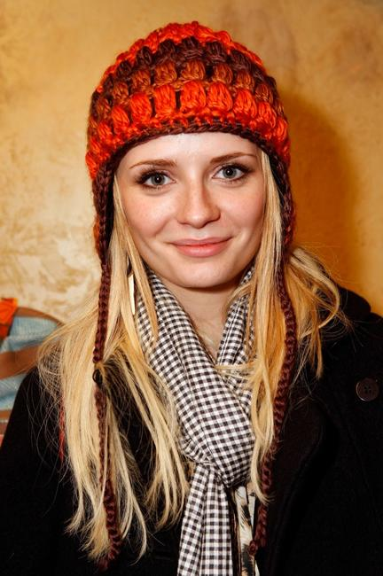 Mischa Barton at the Gibson Guitar celebrity hospitality lounge during the 2008 Sundance Film Festival.