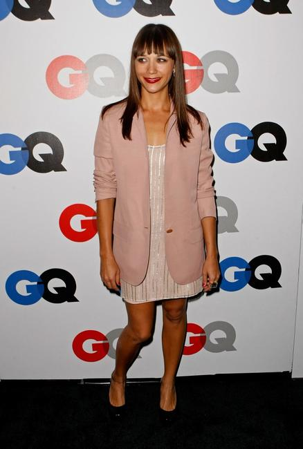 Rashida Jones at the GQ Men of the Year party.