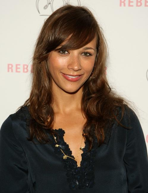 Rashida Jones at the Rebecca Taylor Spring 2009 fashion show during the Mercedes-Benz Fashion Week.