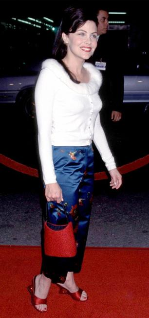 Sherilyn Fenn at the Los Angeles premiere of