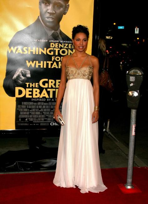 Jurnee Smollett at the premiere of