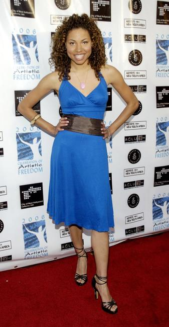 Jurnee Smollett at the Celebration of Artistic Freedom Academy Awards Viewing Dinner.