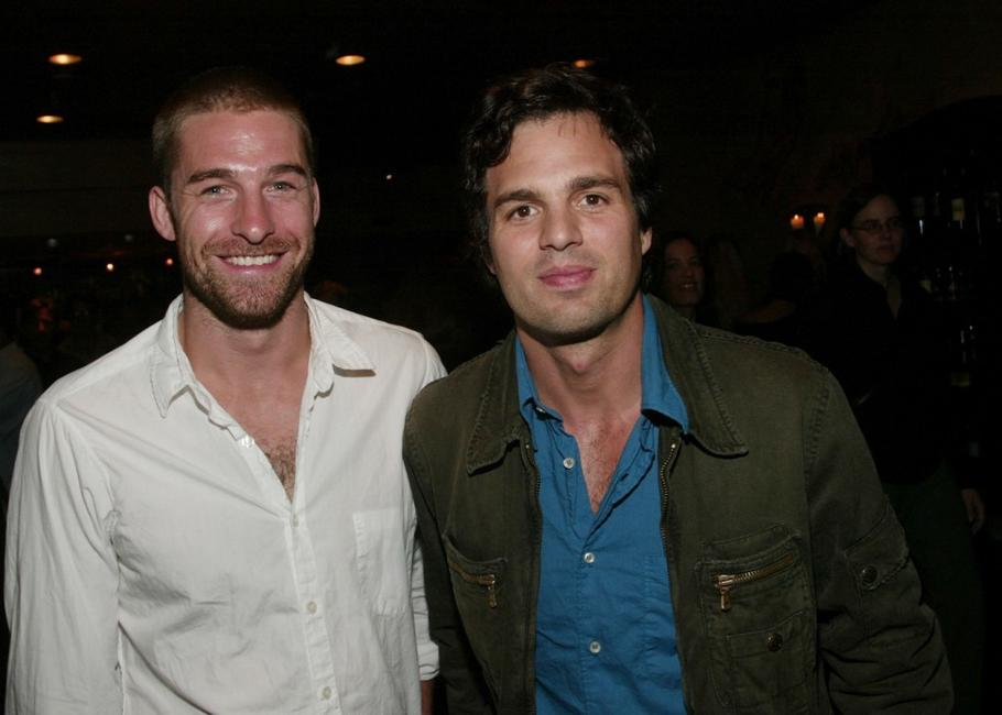 Scott Speedman and Mark Ruffalo at the premiere Magazine party during the 2003 Toronto International Film Festival.