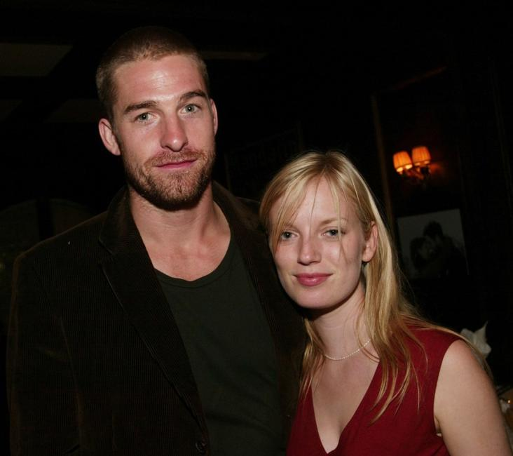 Scott Speedman and Sarah Polly at the Sony Pictures Classics dinner.