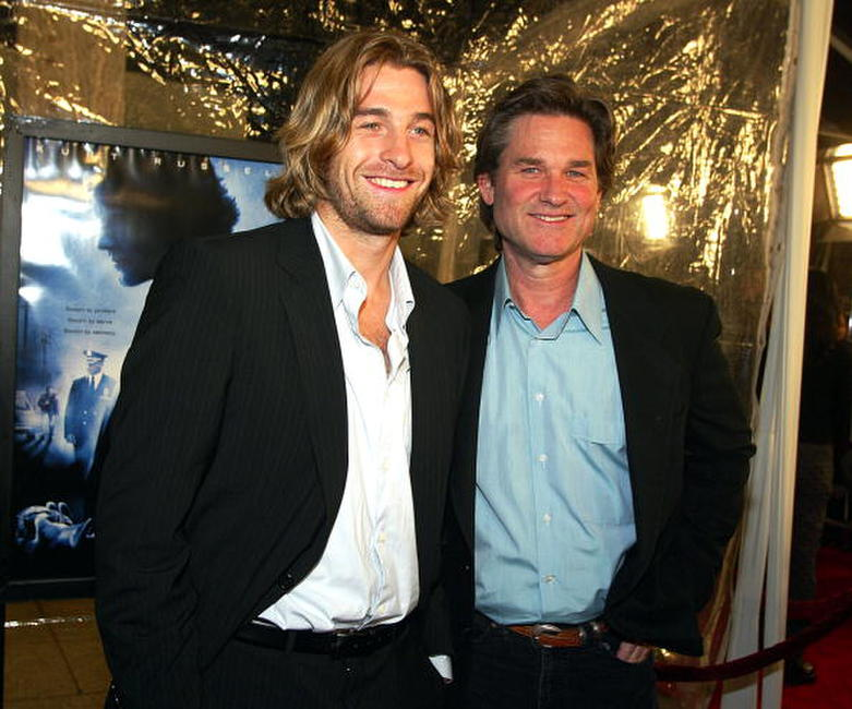 Scott Speedman and Kurt Russell at the premiere of
