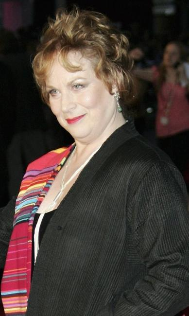 Pam Ferris at the UK premiere of