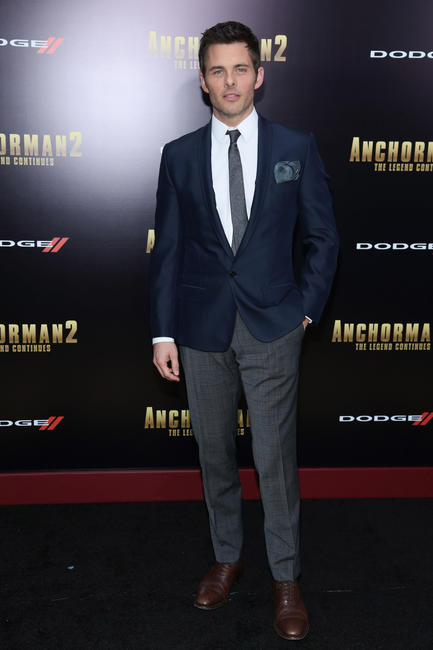 James Marsden at the New York premiere of