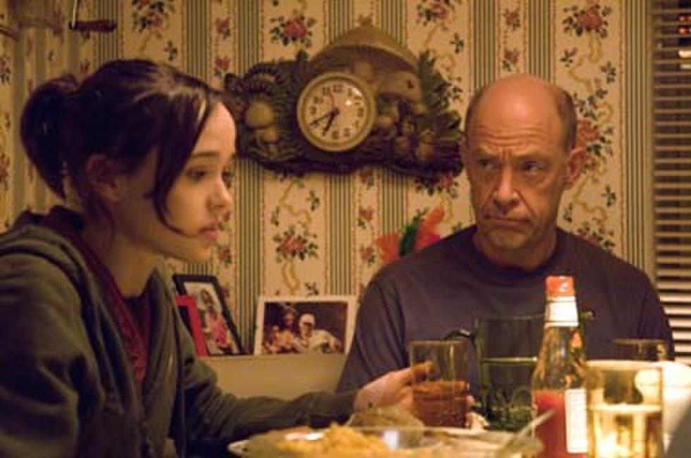 Ellen Page and J.K. Simmons in