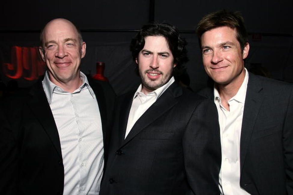 J.K. Simmons, Director Jason Reitman and Jason Bateman at the after party of