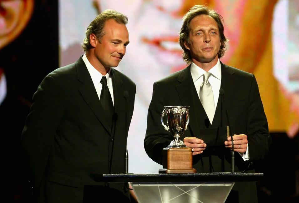 William Fichtner and Dale Hawerchuk at the 2007 NHL Awards Show.