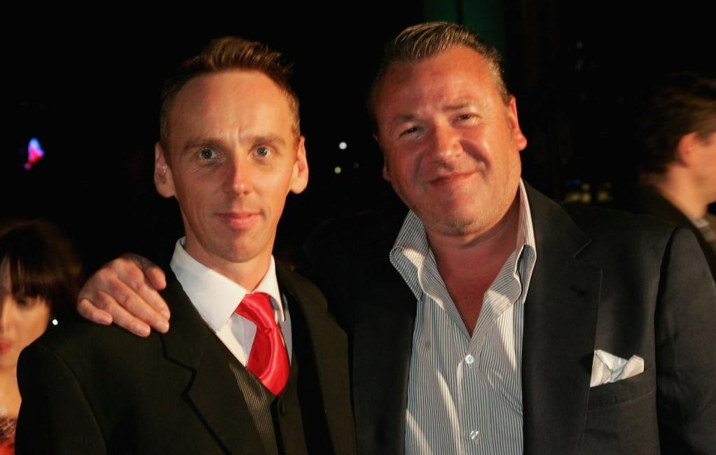 Ray Winstone and Ewen Bremner at the 2006 Hisense Inside Film Awards.