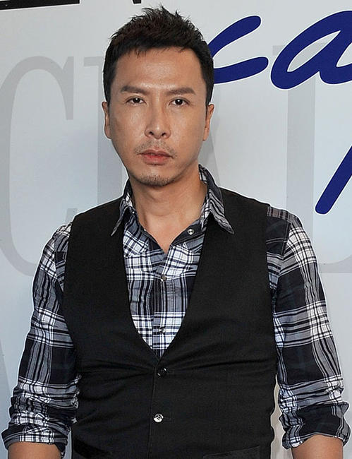 Donnie Yen at the Lancia Cafe during the 67th Venice International Film Festival.