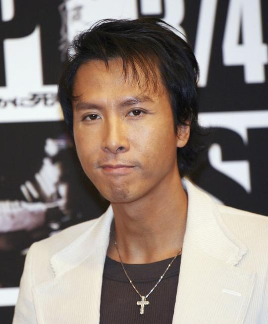 Donnie Yen at the promotion of