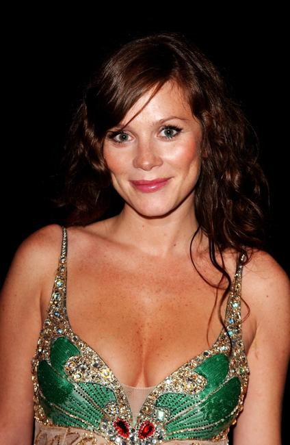 Anna Friel at the aftershow party following the world premiere of