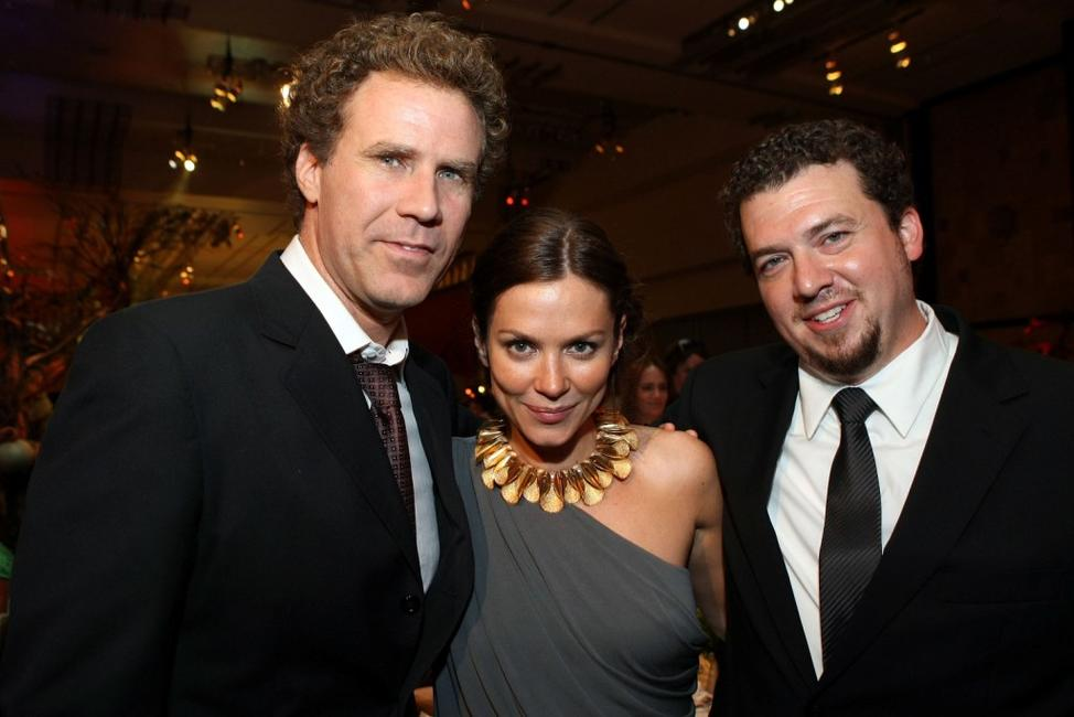 Will Ferrell, Anna Friel and Donna Langley at the after party of the California premiere of