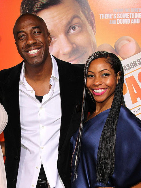 J.B. Smoove and Guest at the California premiere of