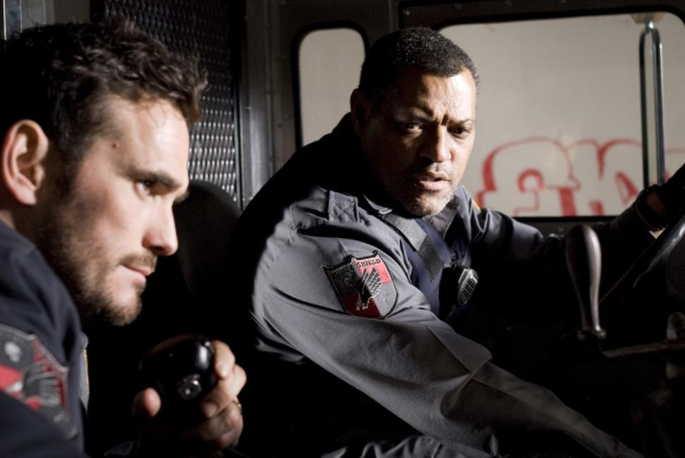Matt Dillon and Laurence Fishburne in