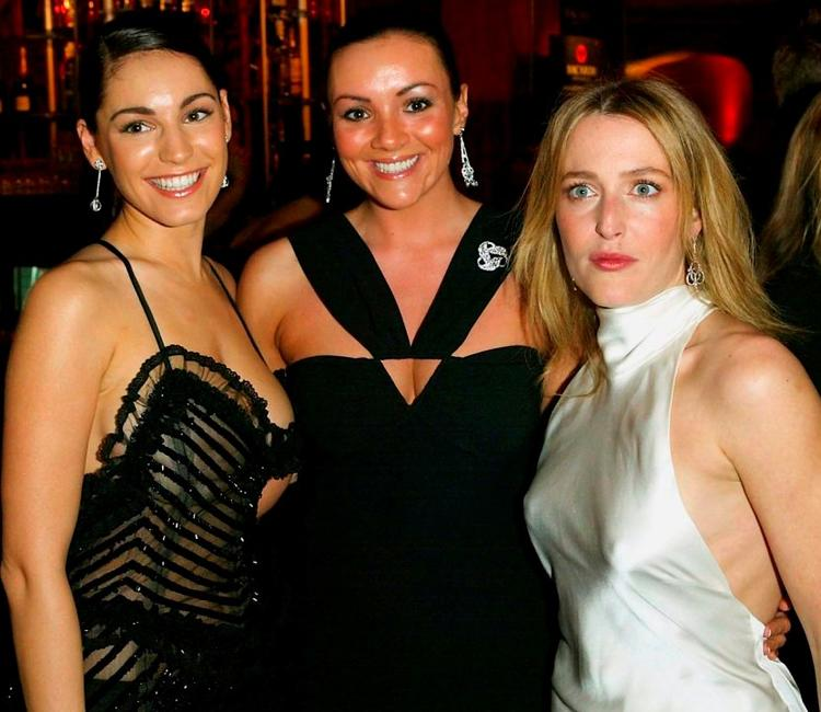 Kelly Brook, Martine McCutcheon and Gillian Anderson at the British Independent Film Awards.