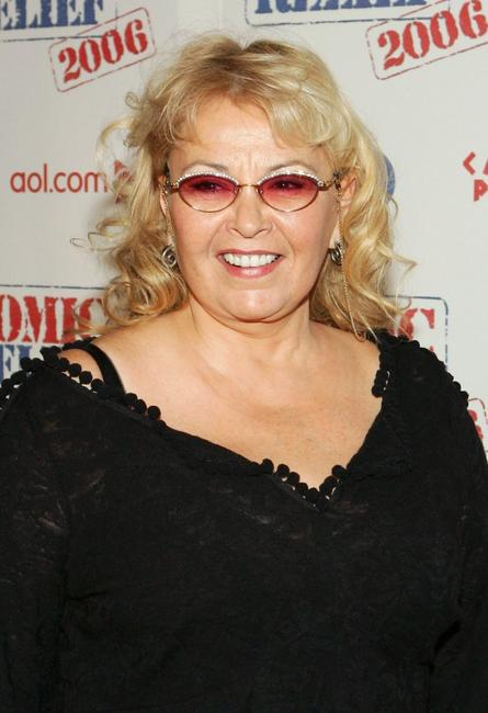 Roseanne Barr poses at the