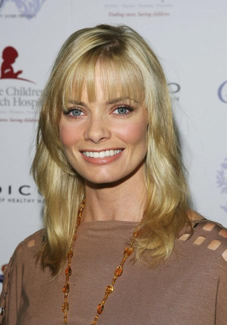 Jaime Pressly at the launch of her Spring/Summer 07' clothing line