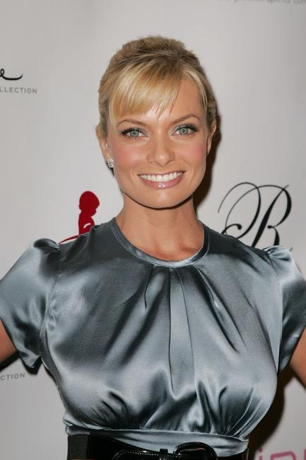 Jaime Pressly at the debut of her Spring/Summer 2008 J'aime Collection.