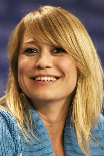 Trine Dyrholm at the press conference of