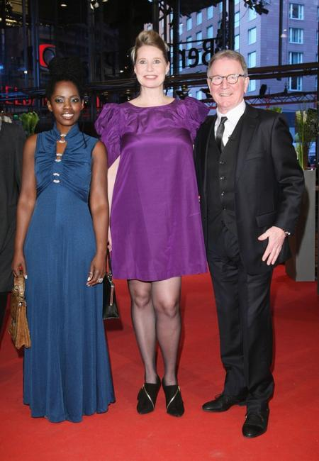 Lorna Brown, Trine Dyrholm and Finn Nielsen at the premiere of
