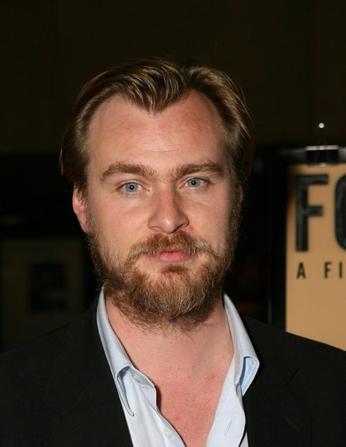 Christopher Nolan at the American Cinematheque screening of