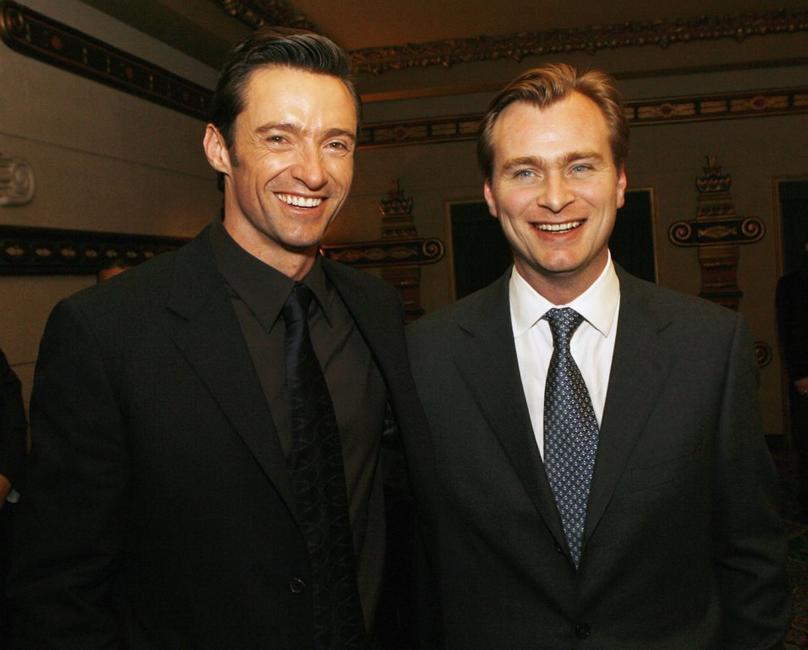 Hugh Jackman and Christopher Nolan at the after party of the premiere of