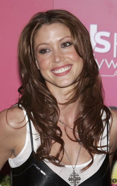 Shannon Elizabeth at the US Weekly Hot Hollywood Awards party.