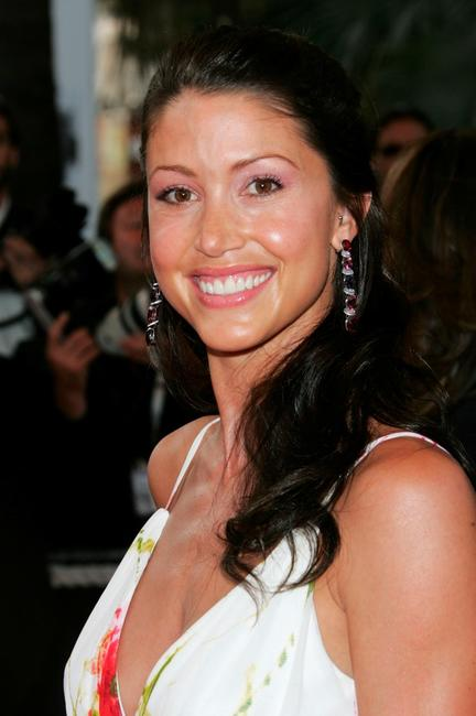 Shannon Elizabeth at the premiere of