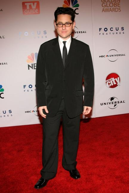 J.J. Abrams at the Universal/NBC/Focus Features Golden Globe after party.