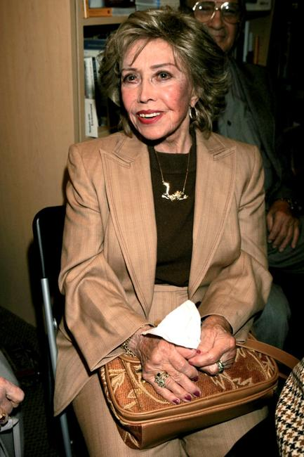 June Foray at the Los Angeles premiere book signing of Ben Alba's