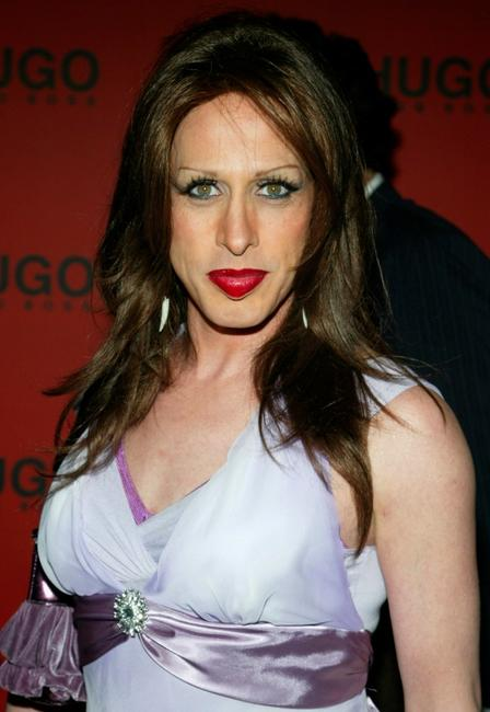 Alexis Arquette at the Hugo Boss Fall/Winter 2005 Collection Show.